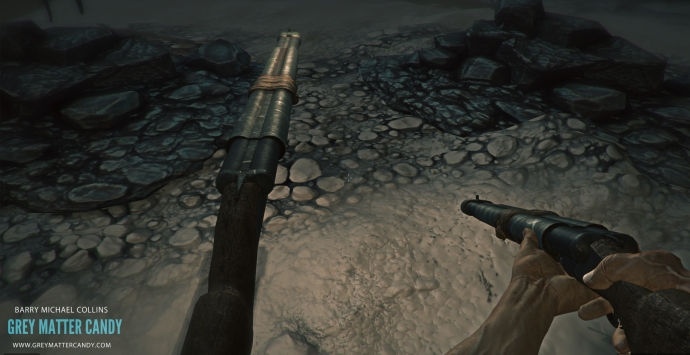 Double Barreled Shotgun In Game